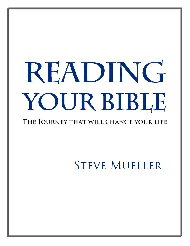 Reading Your Bible cover