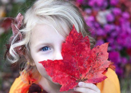 Girl-with-leaf-450x321